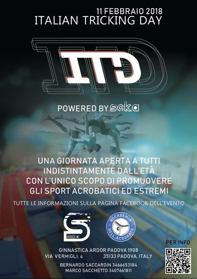 ITD – Italian Tricking Day – 11 FEB 2018